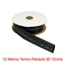 10 Mts Termo-Retráctil (Ø-12mm)