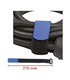 CINTA RECOGE-CABLES (VELCRO 270 mm)