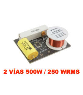 2 VÍAS, 500W / 250 WRMS (CORTE EN 3,5 kHz) ENCASTRABLE EN BASE SPEAKON